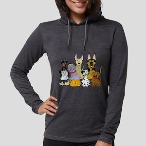 Cartoon Dog Pack Long Sleeve T-Shirt