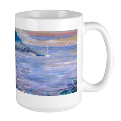 Booth Bay Harbor 1 - Large Mug