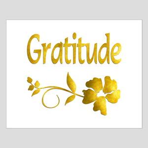 Gratitude Small Poster