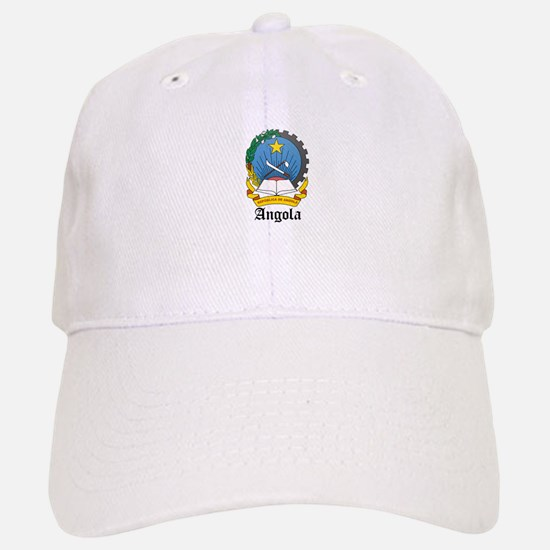 Angolan Coat of Arms Seal Baseball Baseball Cap