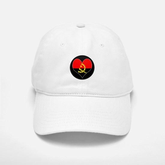 I love Angola Flag Baseball Baseball Cap