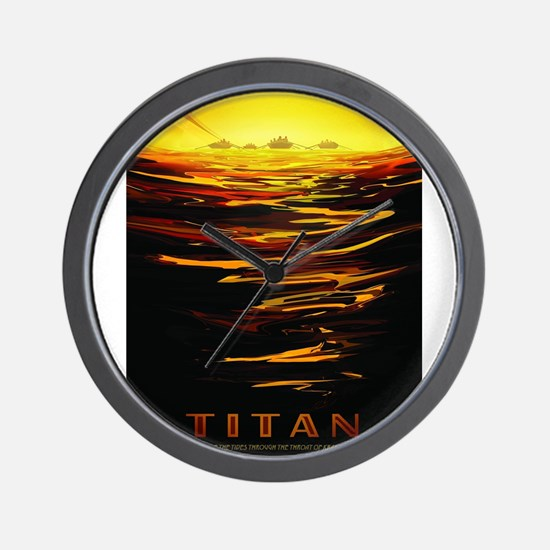Vintage poster - Titan Wall Clock