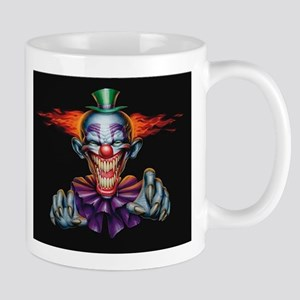 Killer Evil Clown Mugs