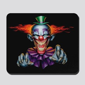 Killer Evil Clown Mousepad