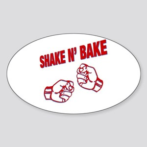 Shake n Bake Oval Sticker
