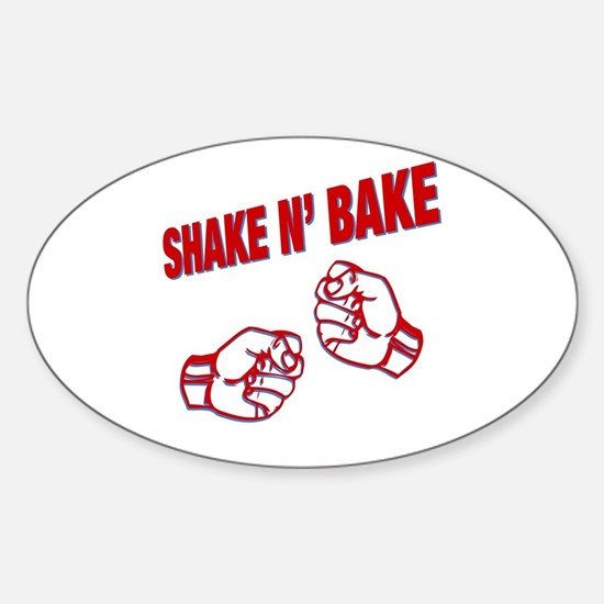 Shake n Bake Oval Decal