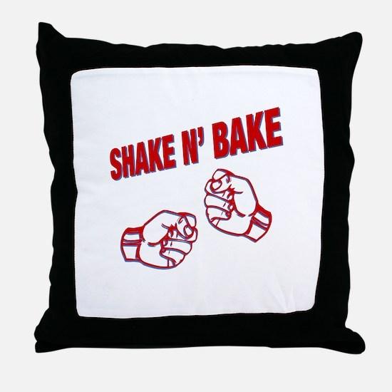 Shake n Bake Throw Pillow