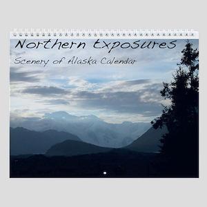 Northern Exposures Alaska Scenery Wall Calendar