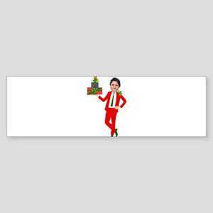 christmas justin trudeau Bumper Sticker