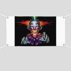 Killer Evil Clown Banner