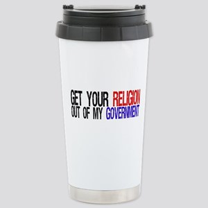 Keep your Religion Stainless Steel Travel Mug