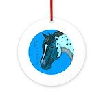 Appaloosa Horse Head Ornament (Round)