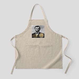 Abraham Lincoln's Pocket Watch BBQ Apron