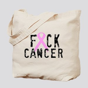 F*CK Cancer Tote Bag