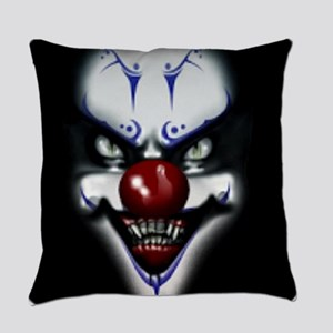Scary Clown Everyday Pillow