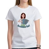 Accordion girl Women's T-Shirt