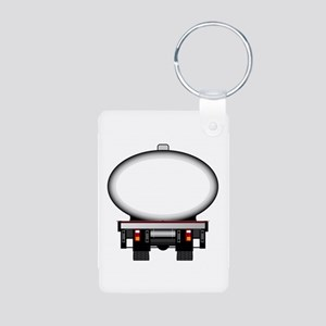 Fuel Tanker Copy Space Keychains