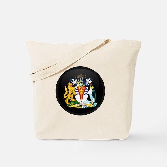 Coat of Arms of Antarctica Tote Bag