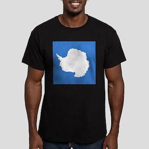 Antarctican Men's Fitted T-Shirt (dark)