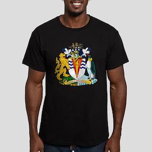 Antarctica Coat of Arms Men's Fitted T-Shirt (dark