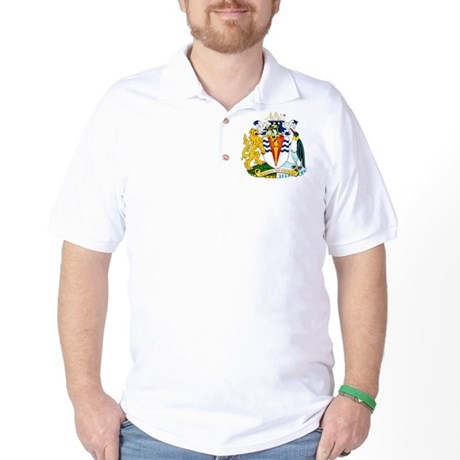Antarctica Coat of Arms Golf Shirt