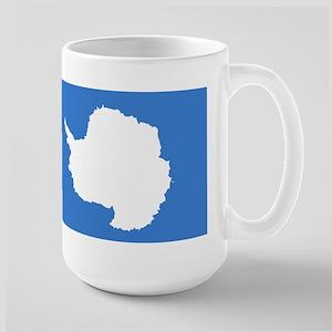 Antarctica Flag Large Mug