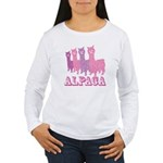 Alpaca 4 P Women's Long Sleeve T-Shirt