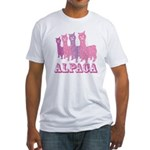 Alpaca 4 P Fitted T-Shirt