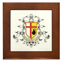 Crest Framed Tile