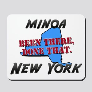 minoa new york - been there, done that Mousepad