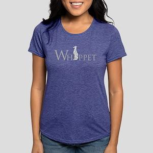 WhippetLTGREYWHITE T-Shirt
