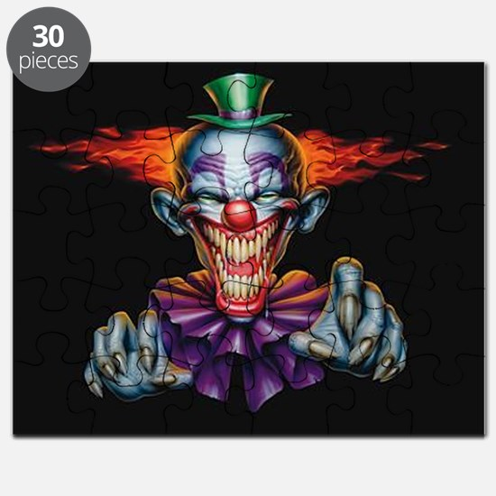 Killer Evil Clown Puzzle