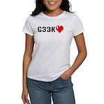 Geek <3 Women's T-Shirt