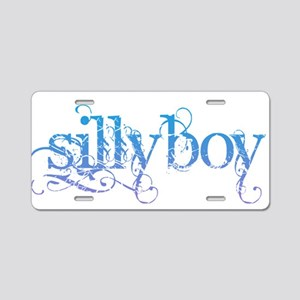 Silly Boy Aluminum License Plate
