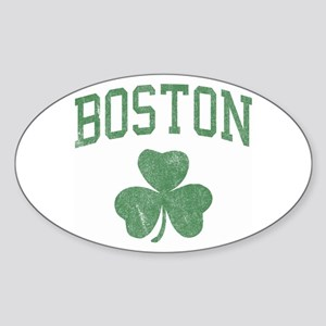 Boston Irish Oval Sticker