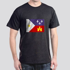 Cajun Flag Dark T-Shirt