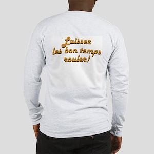 Cajun Flag (2-sided) Long Sleeve T-Shirt