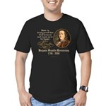 Benjamin Franklin Beer Quote Men's Fitted T-Shirt