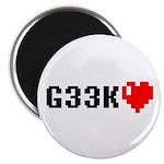 Geek <3 Magnet