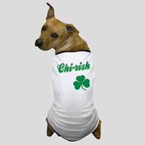 Chi-rish Chicago Irish Dog T-Shirt