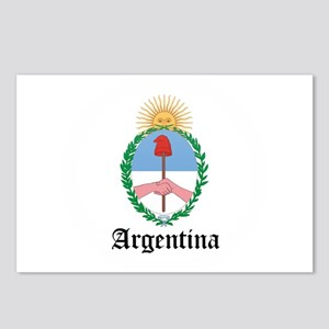 Argentine Coat of Arms Seal Postcards (Package of