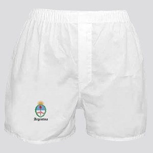 Argentine Coat of Arms Seal Boxer Shorts