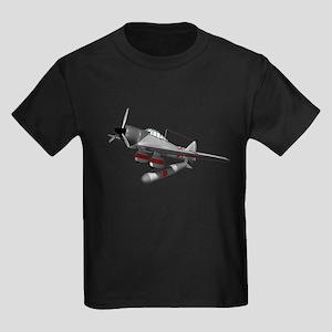 Torpedo Plane Kids Dark T-Shirt