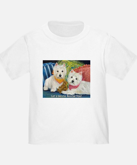 WESTIE LET A WESTIE RESCUE YOU! T