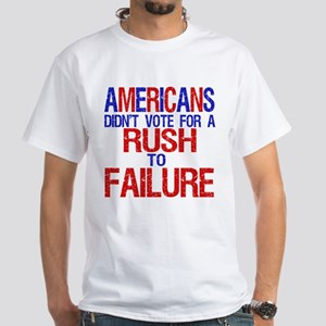 A Message for Rush White T-Shirt