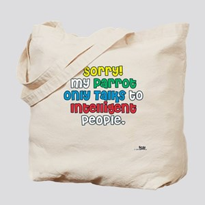 """Does your Parrot Talk?"" Tote Bag"