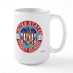 Coast Guard Masons Large Mug