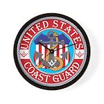 Coast Guard Masons Wall Clock