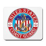 Coast Guard Masons Mousepad