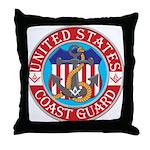 Coast Guard Masons Throw Pillow